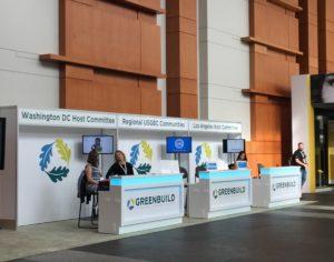 Greenbuild 2015 information desk