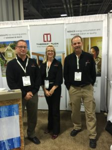 The BRINC Building Products, Inc. staff manning the booth at Greenbuild 2015