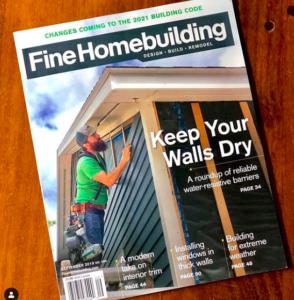 Fine Homebuilding Magazine September 2019
